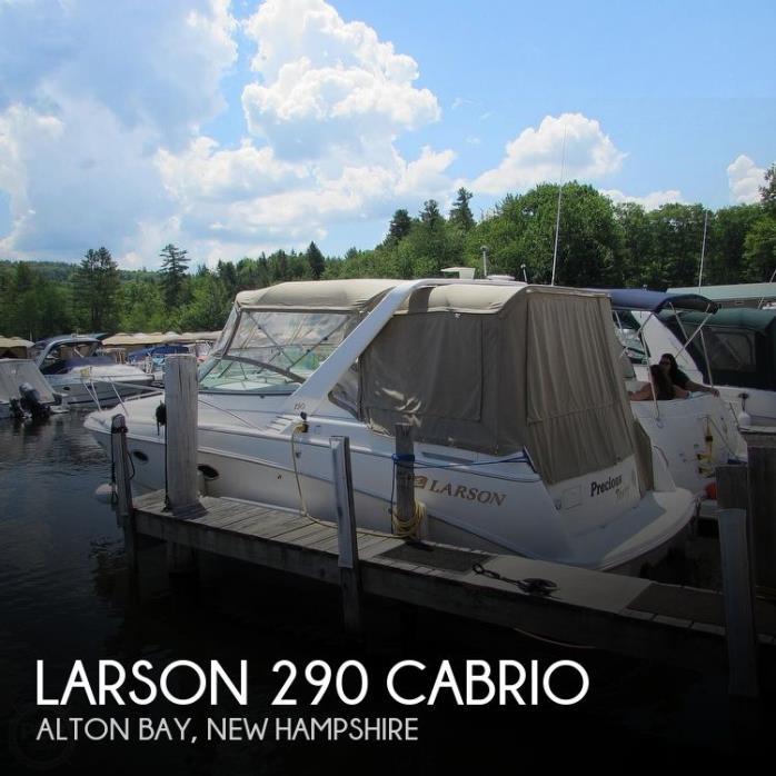 2001 Larson 290 Cabrio