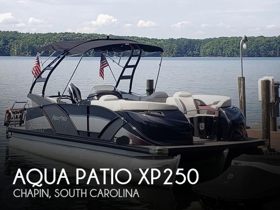 2017 Aqua Patio XP250