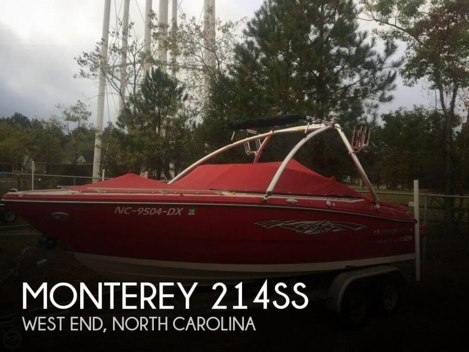 2013 Monterey 214SS