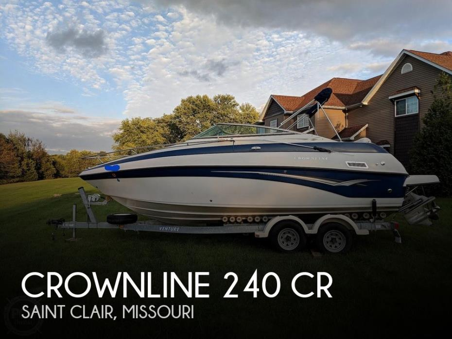 2004 Crownline 240 CR