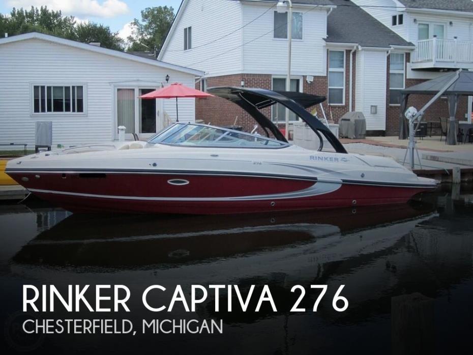 2015 Rinker 276 Captiva