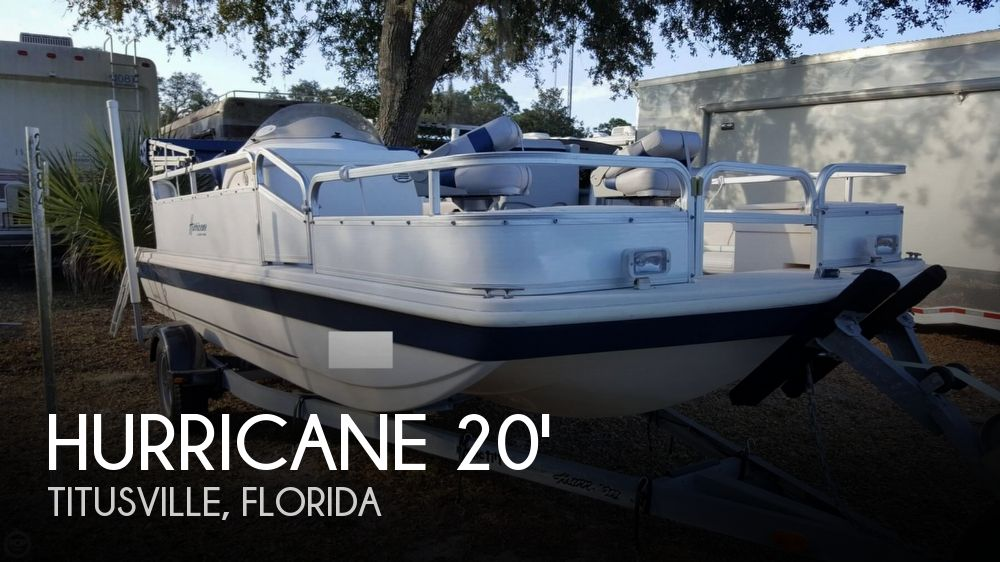 2006 Hurricane Fun Deck 196