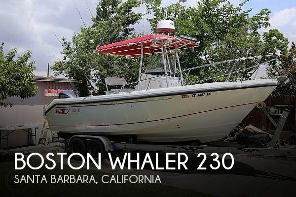 2002 Boston Whaler 230