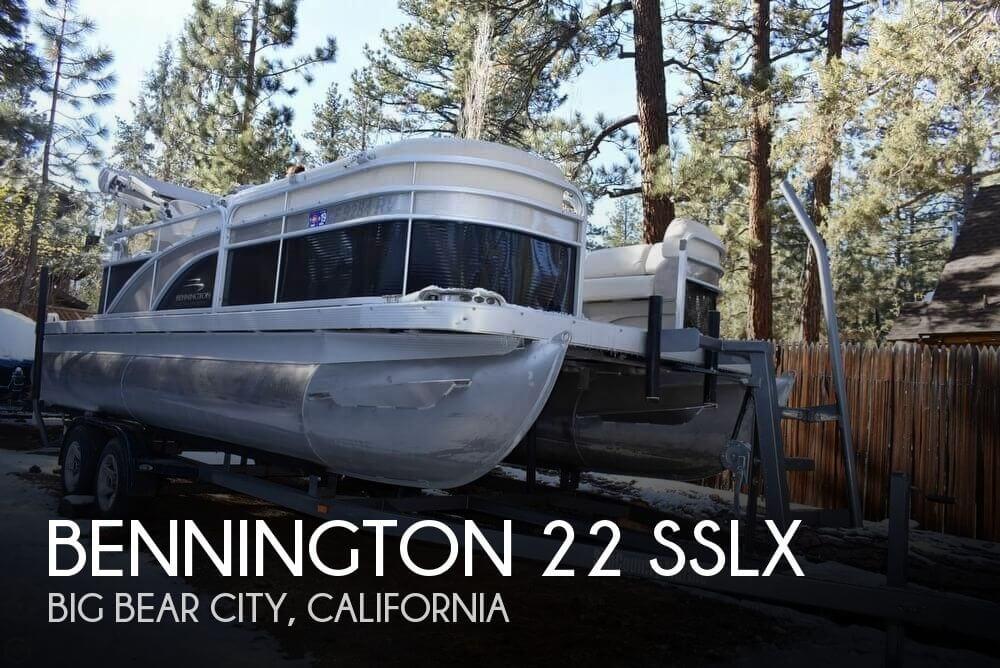 2013 Bennington 22 SSLX
