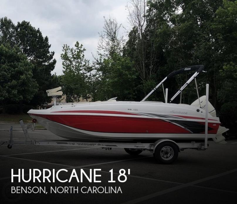 2019 Hurricane SunDeck Sport 188