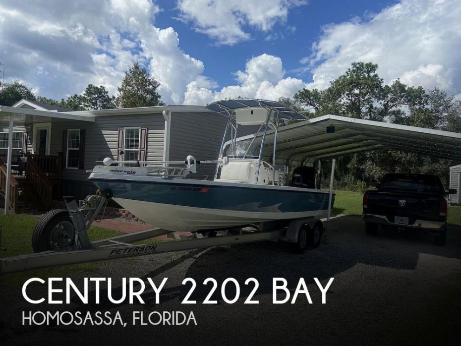2007 Century 2202 Bay