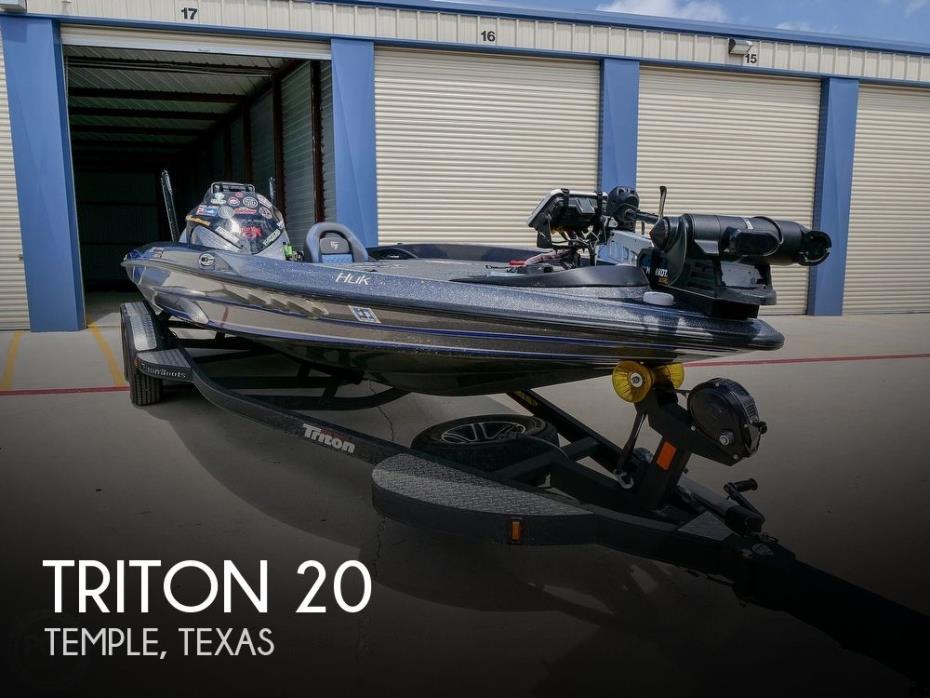 2019 Triton 20TRX Patriot Elite