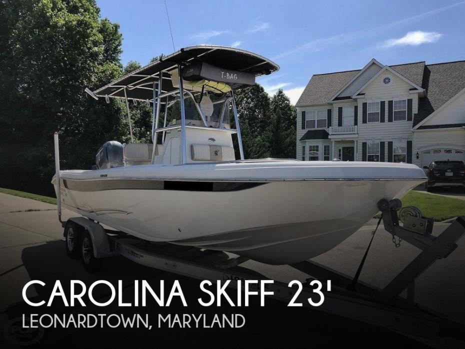 2016 Carolina Skiff 23 Ultra Elite