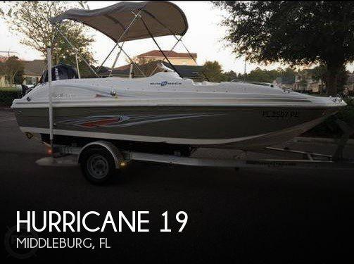 2011 Hurricane 188 OB