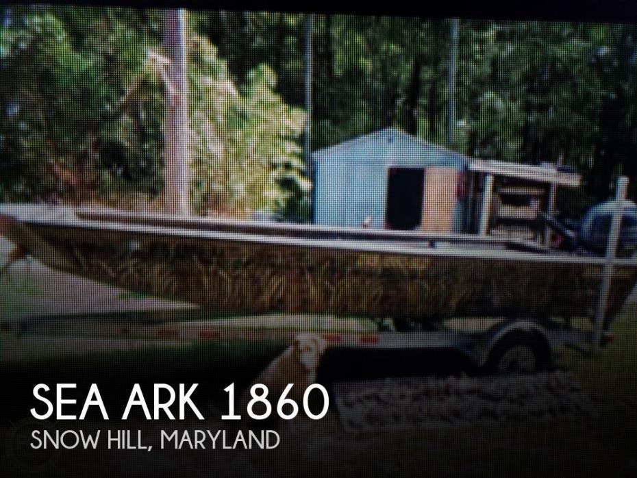 2016 Sea Ark 1860