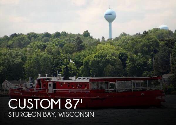1936 Custom 87 Retired Fireboat