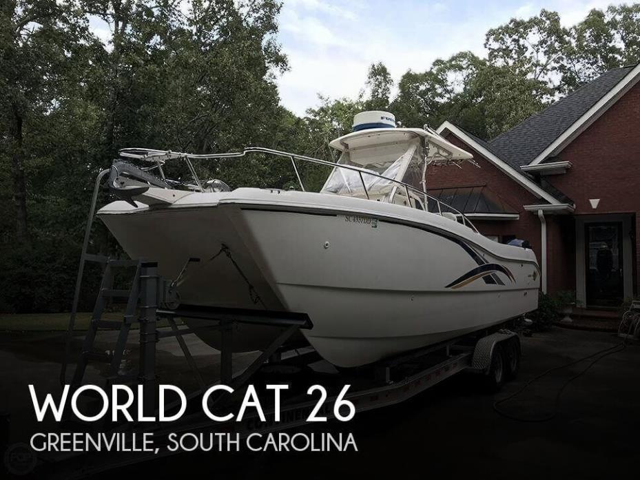 2001 World Cat 266 SF
