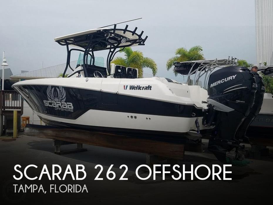 2017 Scarab 262 Offshore