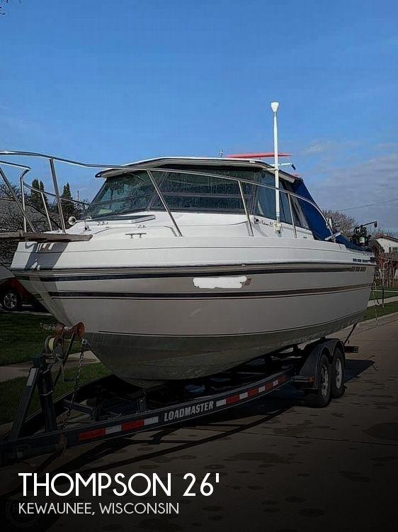 1989 Thompson Fisherman 260