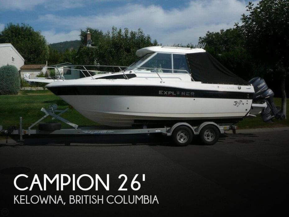 2010 Campion 682 SC BRA Explorer