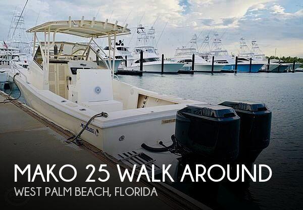 1992 Mako 25 Walk Around