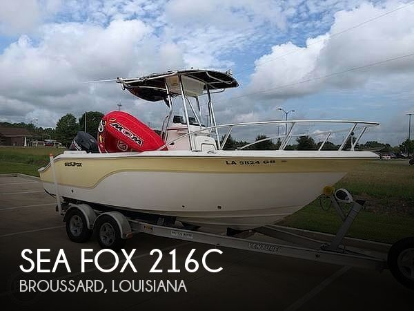 2008 Sea Fox 216C