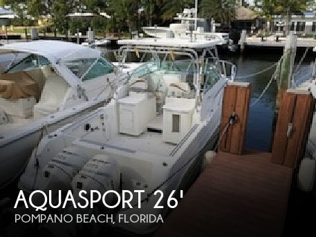 2001 Aquasport 275 Explorer