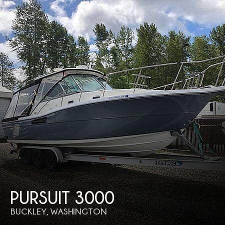 2001 Pursuit 3000 express