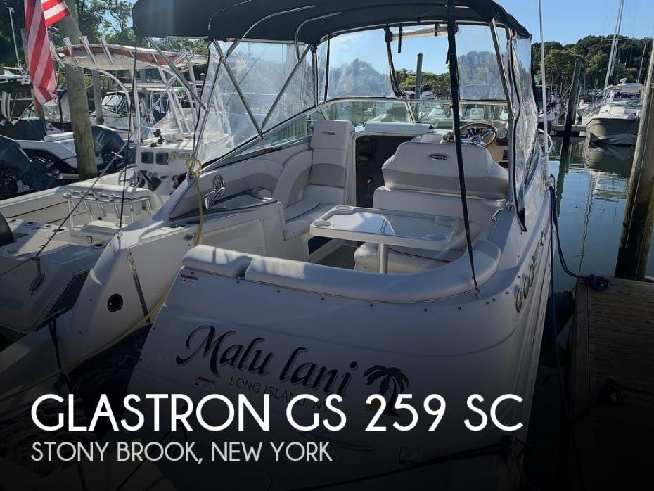 2011 Glastron GS 259 SC