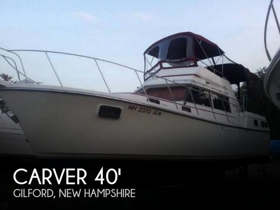 1981 Carver 3607 Aft Cabin