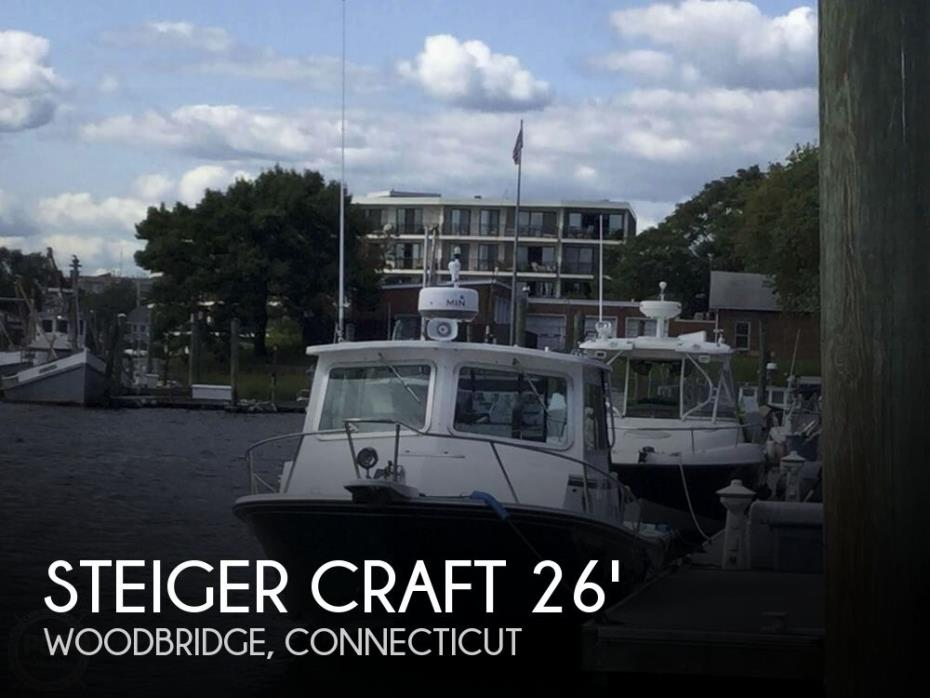 2012 Steiger Craft 26 Miami