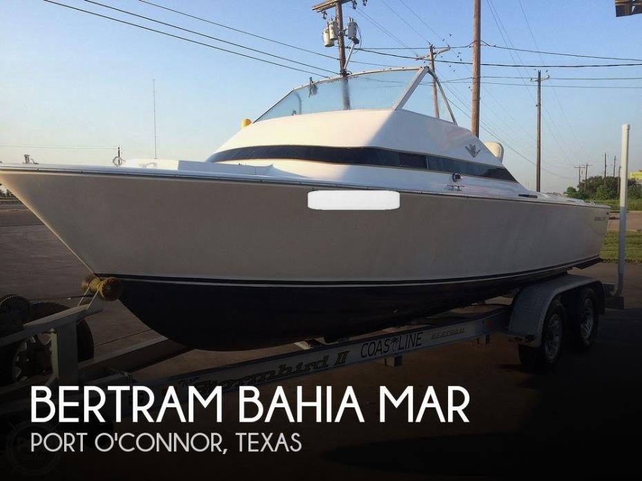 1966 Bertram Bahia Mar 20