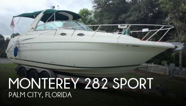 2001 Monterey 282 Sport