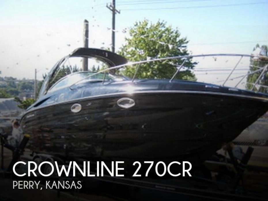 2007 Crownline 270CR