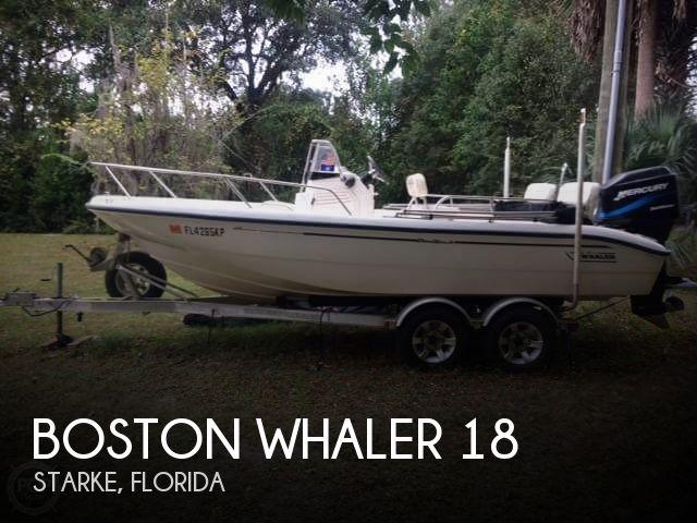 1999 Boston Whaler 18