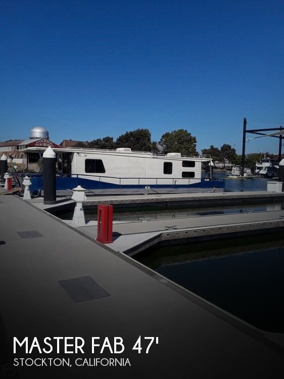 1982 Master Fabricators 14 X 47 Houseboat