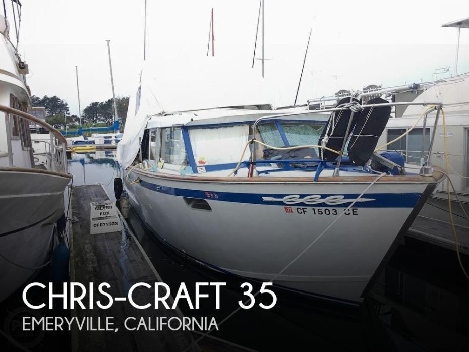 1963 Chris-Craft 35