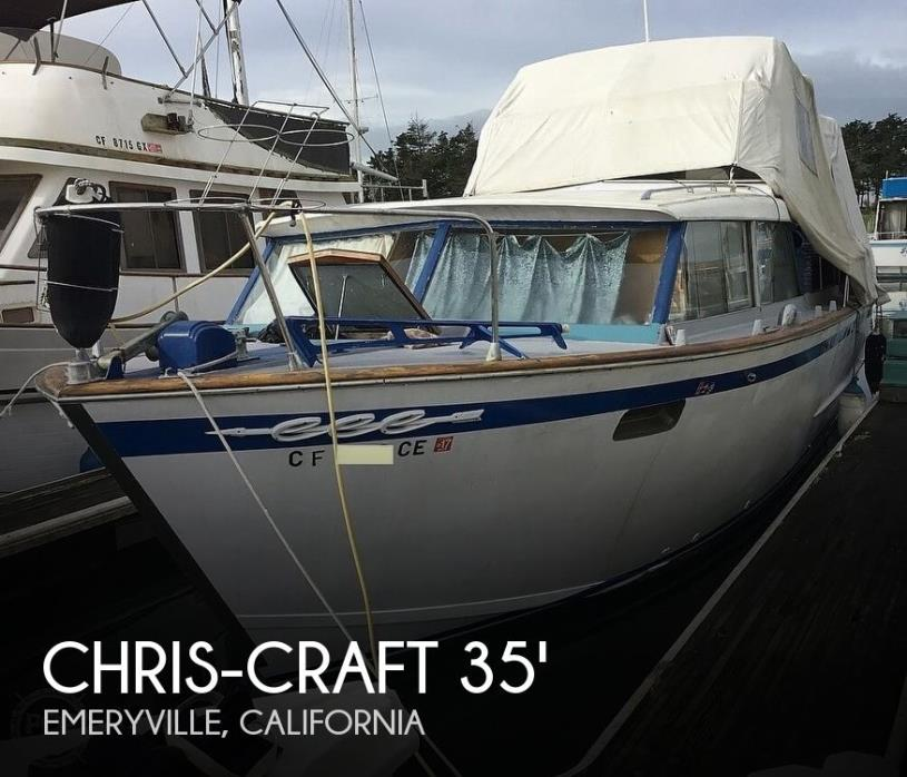 1963 Chris-Craft Cavalier 35 Double Cabin