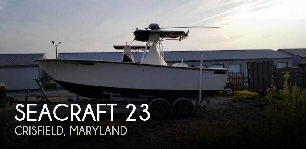 1978 SeaCraft 23 Super Fisherman IB