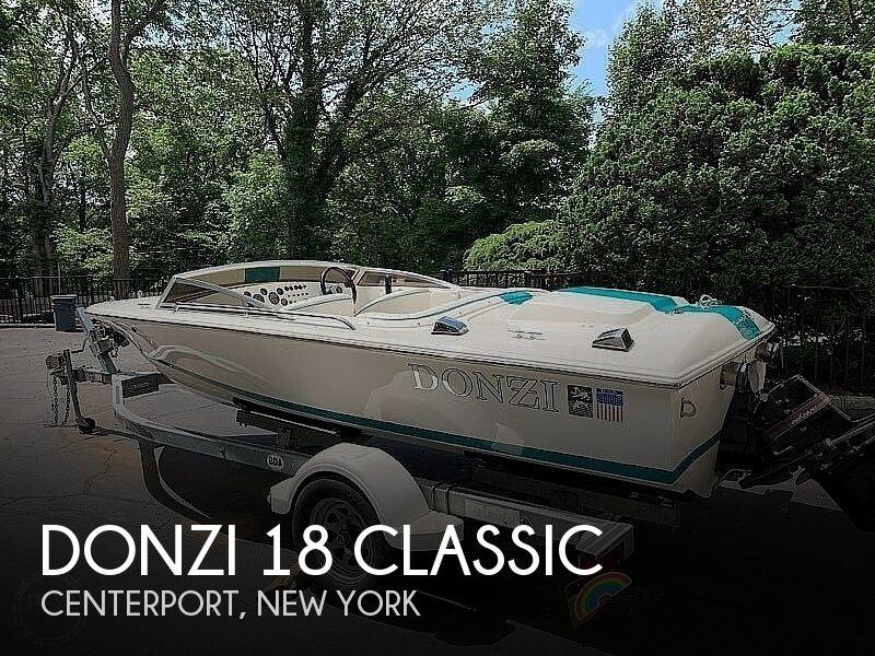 1995 Donzi 18 Classic