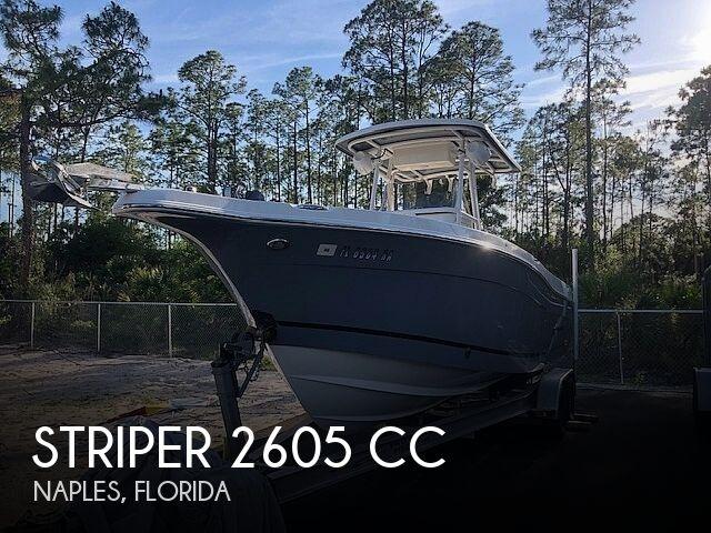 2016 Seaswirl Striper 2605 CC