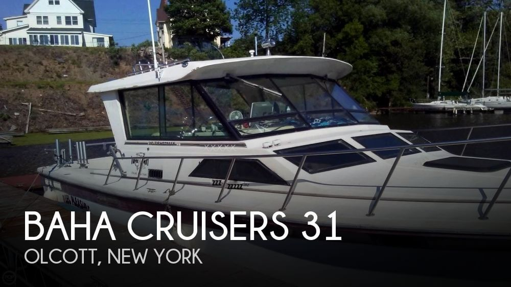 1990 Baha Cruisers 310 Sport Fisherman