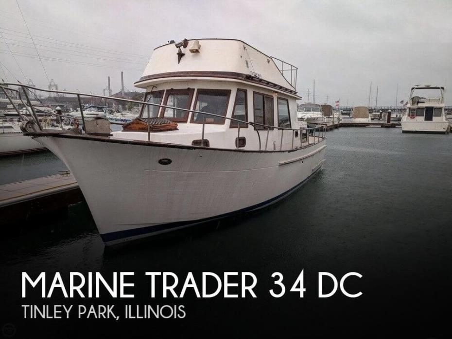 1981 Marine Trader 34 DC