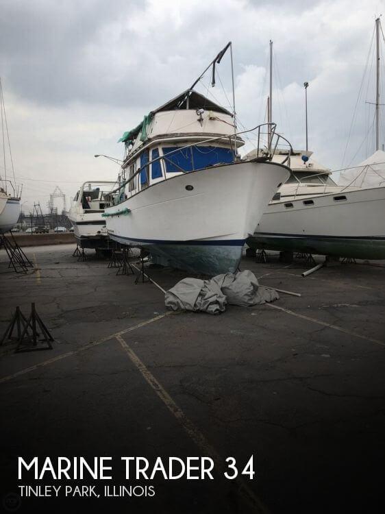 1981 Marine Trader 34