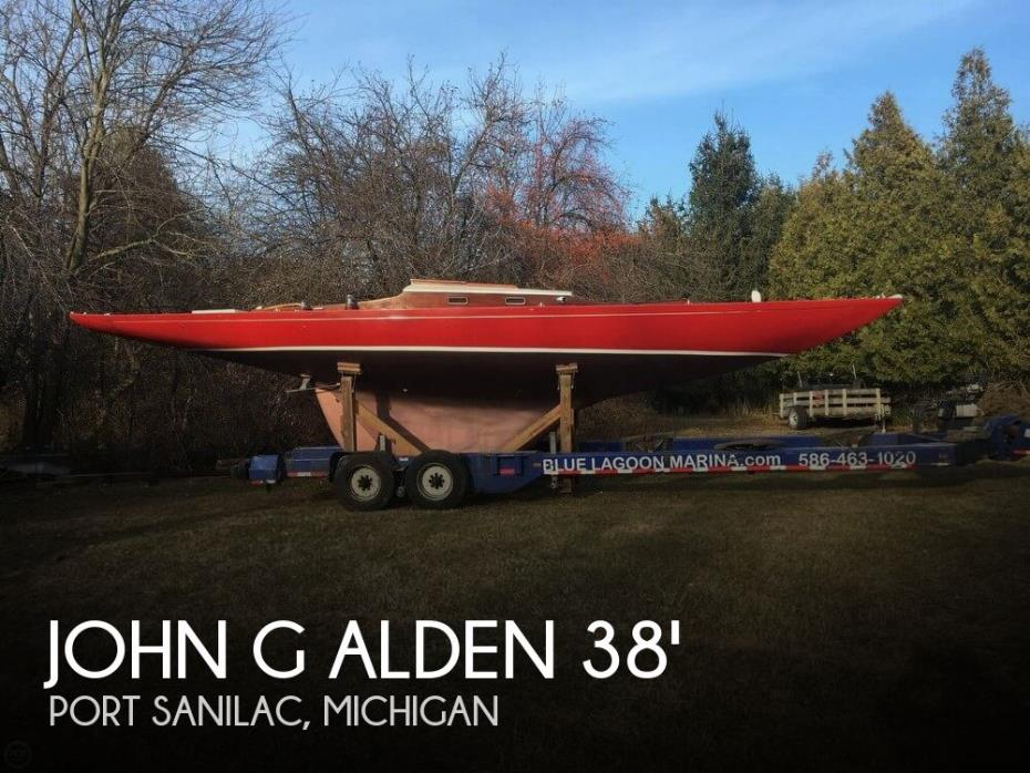 1948 John G Alden 38 US ONE-DESIGN