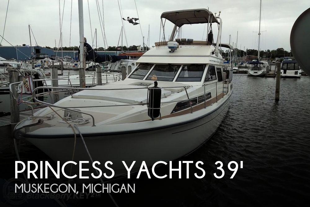 1985 Princess Yachts 41-4