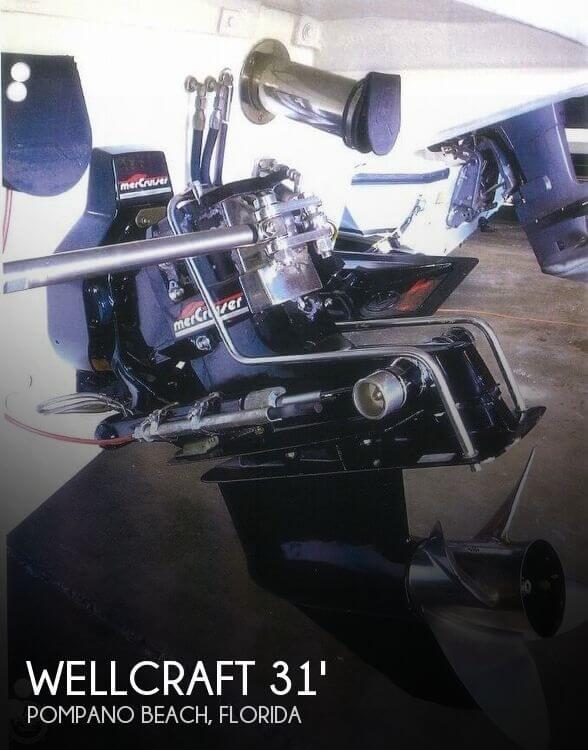 1993 Wellcraft Scarab 31 Thunder