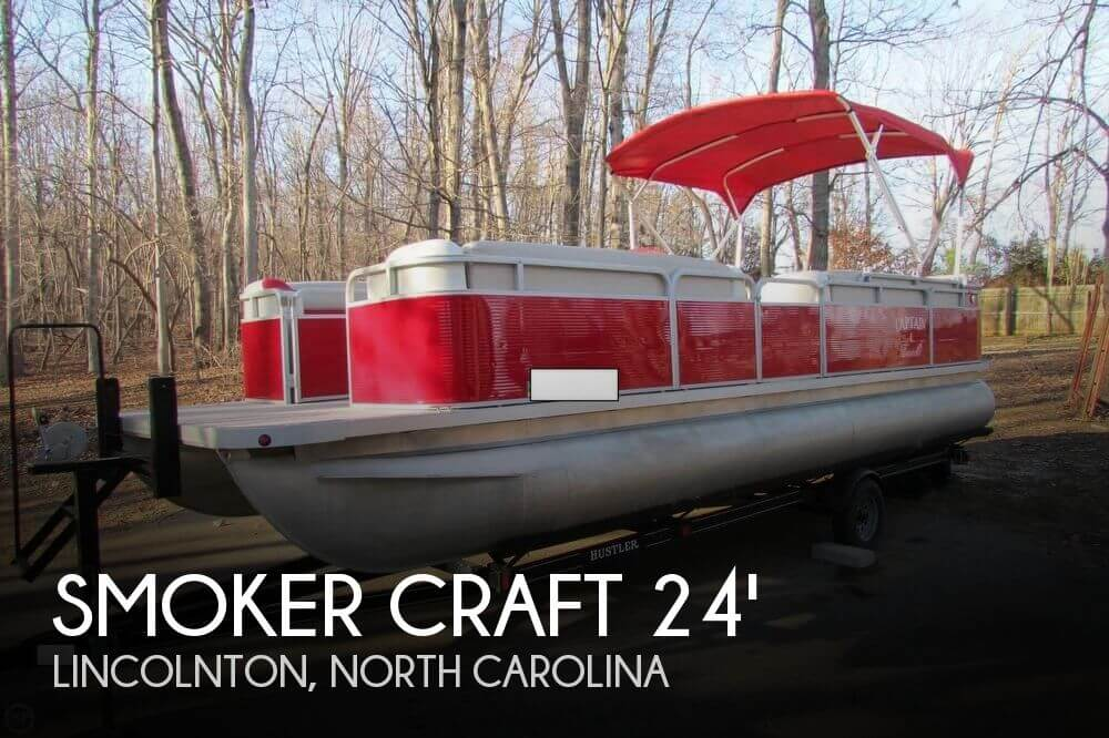 2001 Smoker Craft 824 Sunsport Cruise