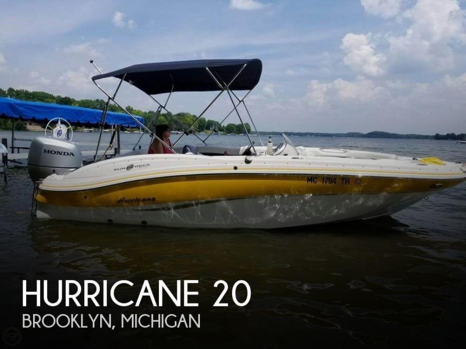 2014 Hurricane 203 Sundeck Sport