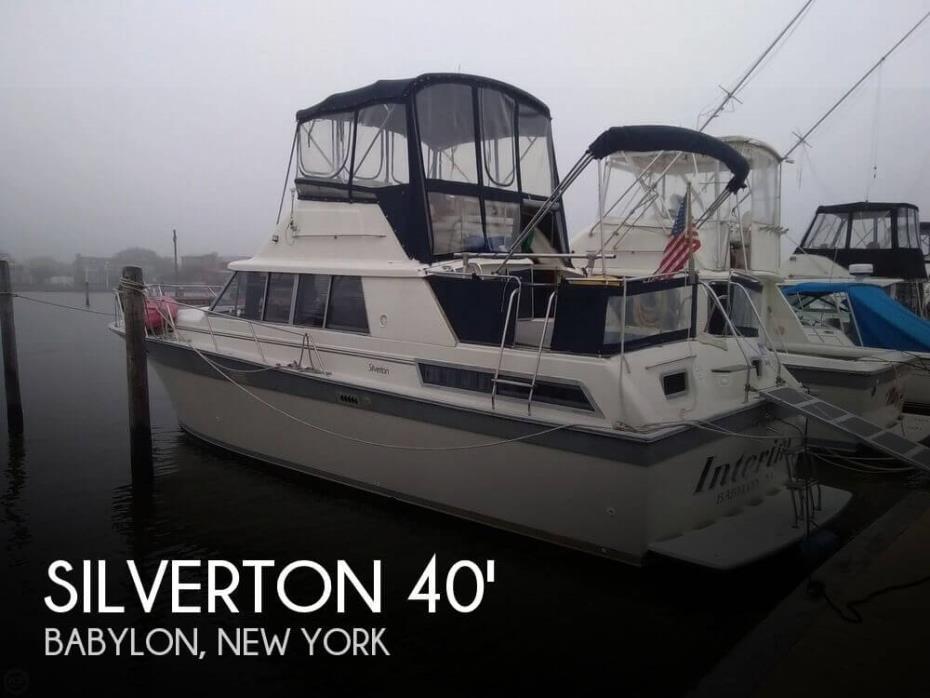 1988 Silverton 40 Aft Cabin