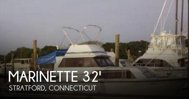 1989 Marinette 32 Fly Bridge Sedan Cruiser
