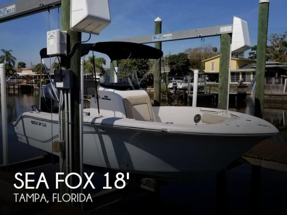 2018 Sea Fox 186 Commander