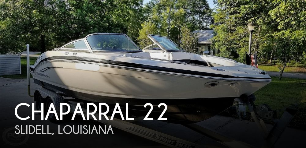 2010 Chaparral 226 ssi