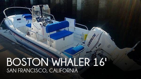 2001 Boston Whaler Dauntless 160