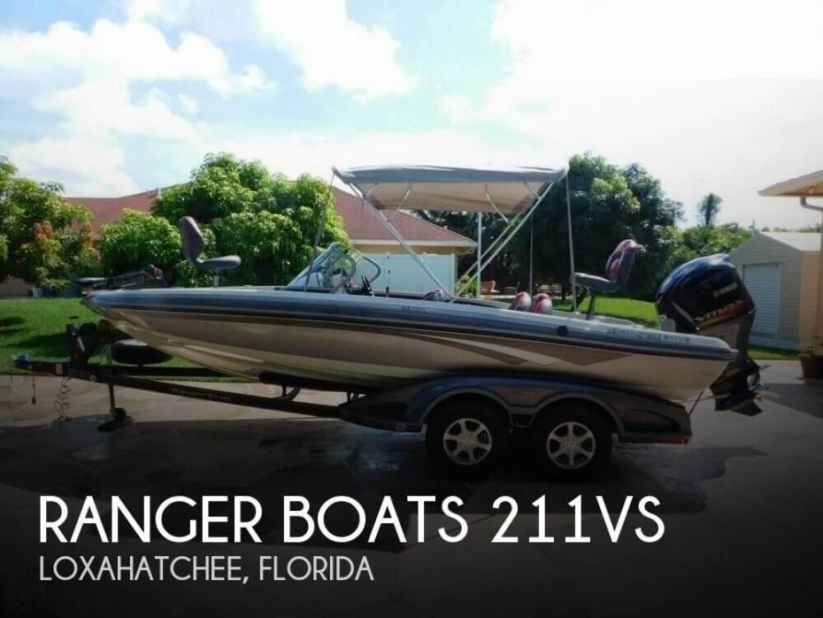 2011 Ranger Boats 211VS Reata